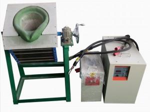 供应融化铝合金中频熔炼炉
